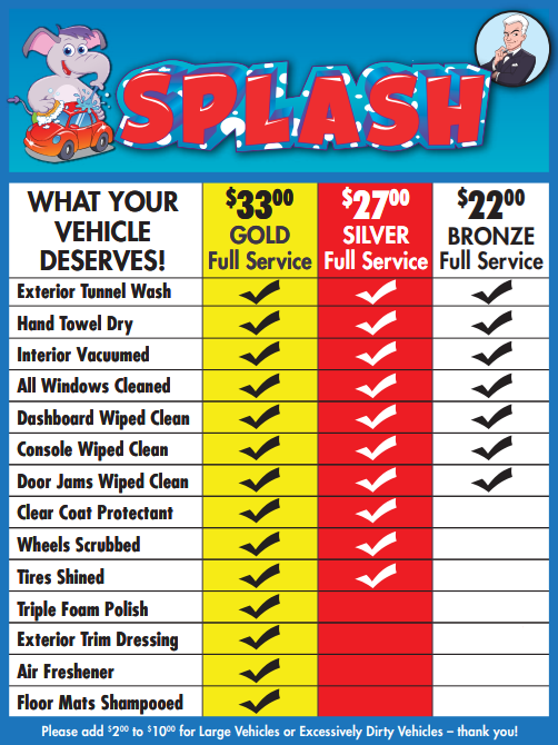Splash Full Service Car Wash Cotati